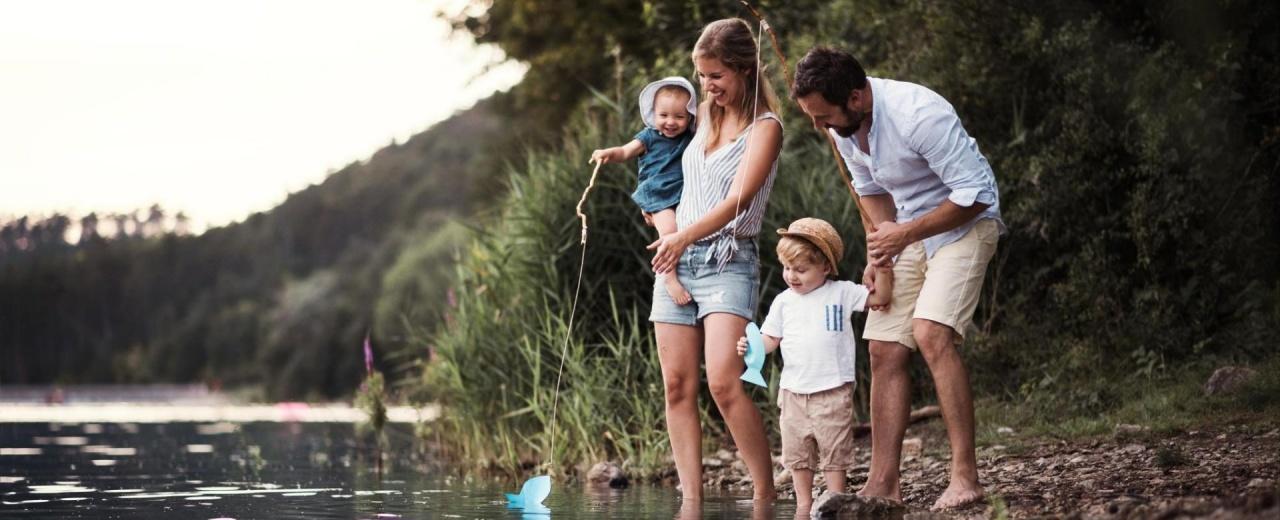 Family Fishing in Winthrop WA