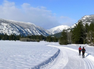 Cross Country Skiing Mazama WA